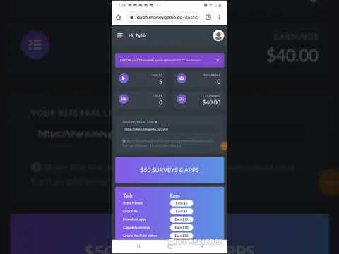 Get Paid For Clout! Make Money Online With Money Genie | share.moneygenie.co/Zyhir