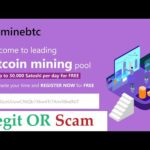 MineBTC | Leading Bitcoin Mining Pool – Legit OR Scam 0.0063 Btc Live Withdrawal Payment Proof 2020
