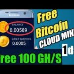 New Bitcoin Mining 100ghs Free 2020
