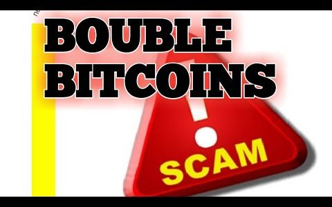 Don't invest with double bitcoins  sites.  Scam Alert . They are scams