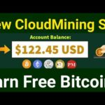 New Free bitcoin Mining Site with Signup Bonus 0.0001 btc  New Free bitcoin Cloudmining