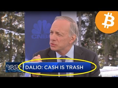 """Ray Dalio """"Cash Is Trash"""" 