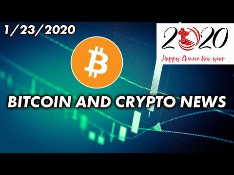 Bitcoin & Cryptocurrency News 1/23/2020