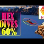 BITCOIN READY TO EXPLODE!? - HEX DIVES 60% - BITCOIN CASH EXCHANGE LISTS HEX! - IS HEX A SCAM?