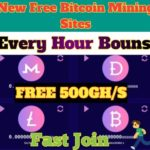 New Free 2 BitCoin Mining Sites SignUp Bouns 500 GH/S Every Hour Bouns Free #Free BTCMINIG
