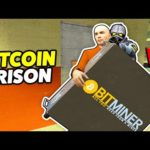 BITCOIN MINING IN A PRISON! – Gmod Prison RP (Making Money With Cryptocurrencies In A Prison)