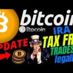 🔥 BITCOIN and LITECOIN TAX FREE TRADES !?🔥btc ltc price prediction, analysis, news, trading