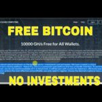FREE MONEY ON  NEW LAUNCH BITCOIN CLOUD MINING SITE   1000 GHS FREE   NO INVESTMENT  ONLINE JOBS