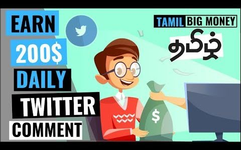 How to Earn money online💰 in Tamil 2020 Just commenting On Twitter