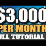 Make Money Online 2020 Earn $3,000+ Per Month For FREE! Full Tutorial