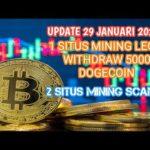 Sudah Withdraw 5000 Dogecoin | Update terbaru Mining bitcoin multicoin yang masih legit dan scam