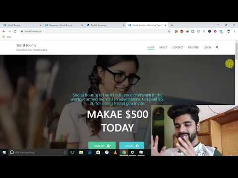 Social beauty make money Online using your mobile phone.
