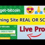 get-bitcoin.org Mining Site 2020 | REAL OR SCAM | Live Withdraw Proof
