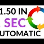 Earn $1.50 in 1 Second AUTOMATICALLY! (Make Money Online 2020)