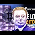 TESLA CEO's ELON MUSK on BITCOIN