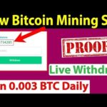 New Bitcoin Mining Site – Sign Up Bonus 500 GH/S – Live Withdraw Proof – Wode