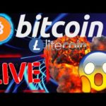 🔥 BITCOIN and LITECOIN LIVE STREAM HANG OUT🔥bitcoin price prediction, analysis, news, trading
