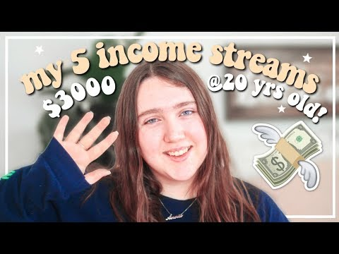 MY 5 STREAMS OF INCOME: How I Make Money Online in 2020!