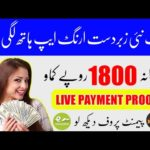 How to earn money online in pakistan | Online Earning app in pakistan | Real earning app in 2020