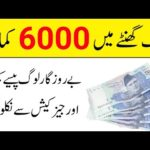 Earn Money Online | Earn Daily 6000 Rupay With Easy Work | Widraw JazzCash EasyPaisa 2020