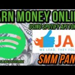EARN MONEY ONLINE USING SPOTIFY AND SMM PANELS 💰 [$1000+ PER MONTH]