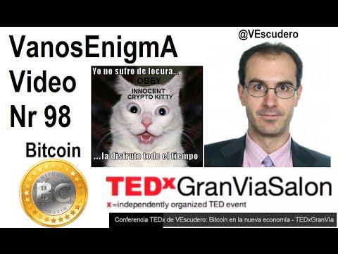 VanosEnigmA 098 Bitcoin Moneda Digital Español Innovacion Dinero Economía Libertad Inflacion Crypto