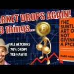 Market BOMB - 3 Things You MUST HAVE MOVING FORWARD! Bitcoin Mining Costs EXPLOSION + Jimmy Song 👎