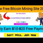 New Bitcoin Mining Site 2020 ! 100% Real Site Don't Miss ! Coinmener.pro Site 2020
