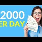 Earn $2000 Per Day Online! (Best Way to Make Money Online)