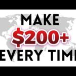 Make $200 Every Time By Doing This!   Make Money Online Method