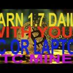 Noob's Guide To Bitcoin Mining - Super Easy & Simple- earn 1.7 btc mining btc windows pc laptop