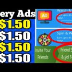 Earn Money Online New Earning App | Watch Videos Earn Money | $1 Free Bonus 2020