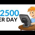 Earn $2500 Per Day Online! (Make Money Online 2020)