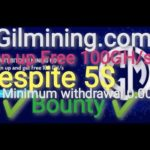 🔥gilmining🔥 Bitcoin mining with deposit of $ 5 with bonus upon registration 100 GB and many bonus
