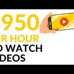 Earn $950 in 1 Hour WATCHING VIDEOS! (Make Money Online)