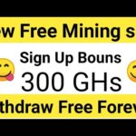 Free Bitcoin Mining Site in 2020 | Sign Up Bouns 300 GHs