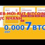 Web mơi - Website đào bitcoin tự động 2020 - 0.0007 BTC/ngày- 7 ngày rút/ tham gia nhanh kẻo scam