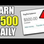 Make $500 Per Day EASY!! – Make Money Online