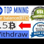 bitcoin mining topmining site 2020|lifetime earning solution