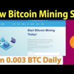 New Bitcoin Mining Site – Earn 0.003 BTC Daily – Btccoinface