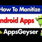 How to Monetize Android Apps with Appsgeyser | Make Money Online