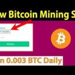 New Free Bitcoin Mining Site – Earn 0.003 BTC Daily – Btc coin face