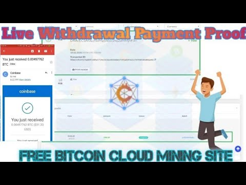 LIVE CRILAX WITHDRAWAL PAYMENT | FREE BITCOIN CLOUD MINING SITE | LEGIT BITCOIN MINING SITE 2020