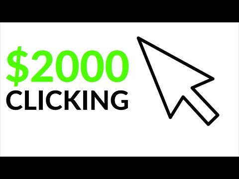 Earn $2000 Per Day JUST BY CLICKING! (Make Money Online)