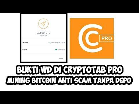 Bukti wd di CryptoTab Pro   Mining Bitcoin Anti Scam Tanpa Depo  