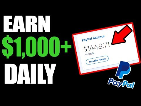 Earn $1,000 Per Day (ANYONE CAN DO THIS) - Make Money Online