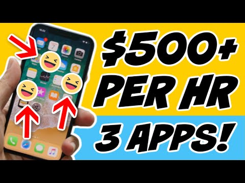 3 Apps That Pay $500 PER HOUR FOR FREE (Make Money Online)