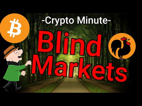 'Blind Markets '  Crypto Minute, March 4th 2020, Daily Bitcoin News & Analysis today