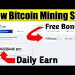 New BitCoin Mining Sites 2020 – 100 GH/s Free SignUp Bonus By 1rc.co