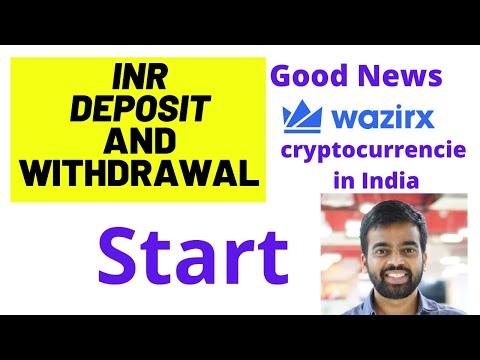 INR Deposits And Withdrawals Start ? | Good News #wazirx exchange | #Bitcoin Latest news | crypto